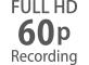 Cadences FullHD comprises entre24p et60p
